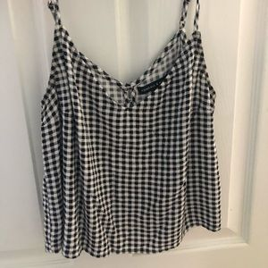 checkered kendall and kylie tank top